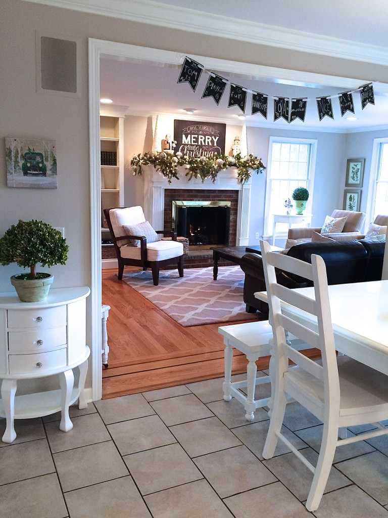 Sutter kitchen and familyroom