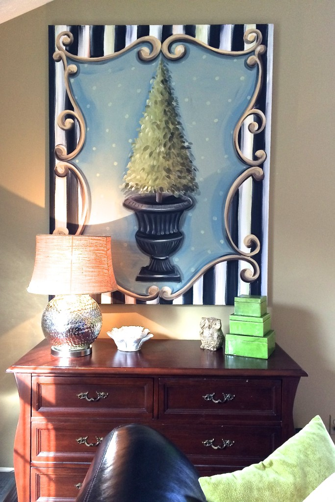 Topiary painting