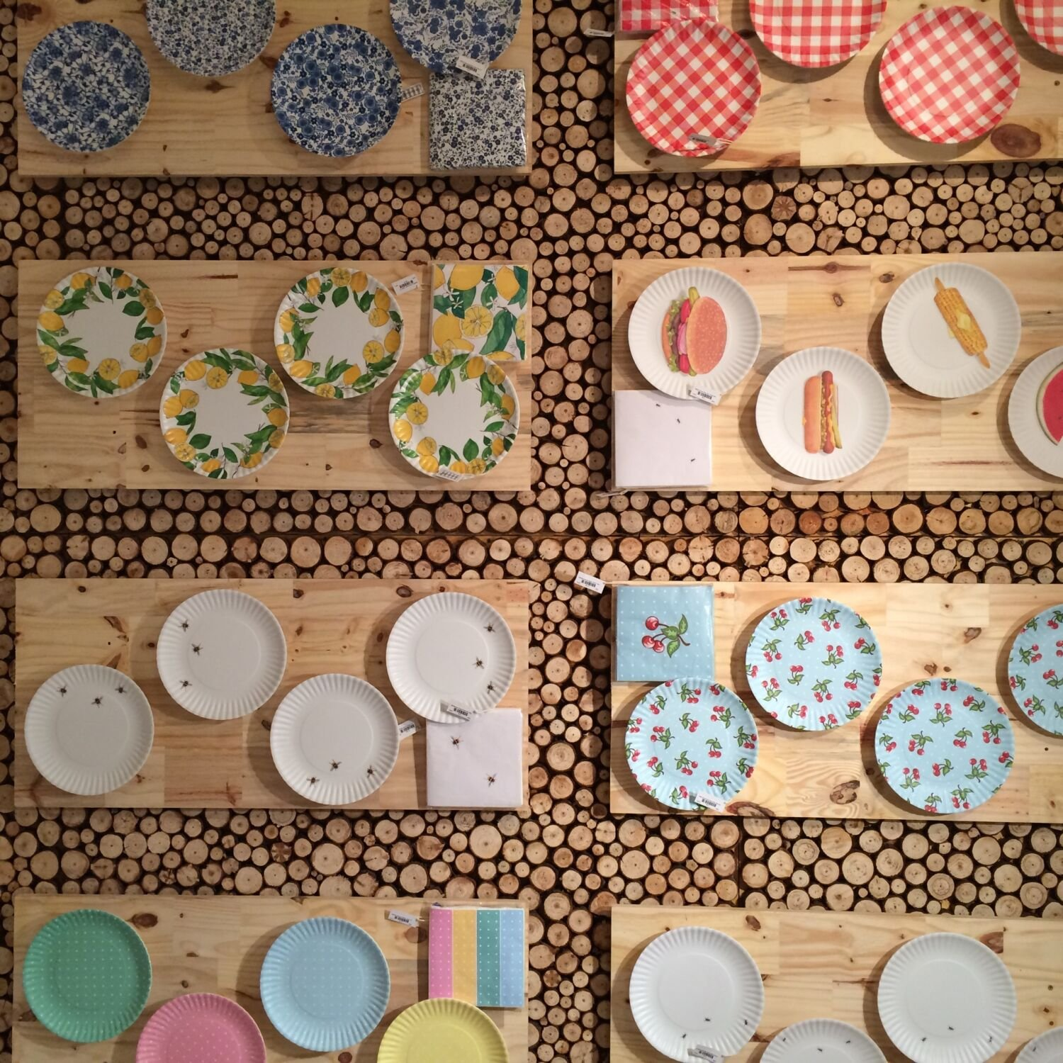& Melamine Madness: Fall in Love with non breakable colorful dinnerware