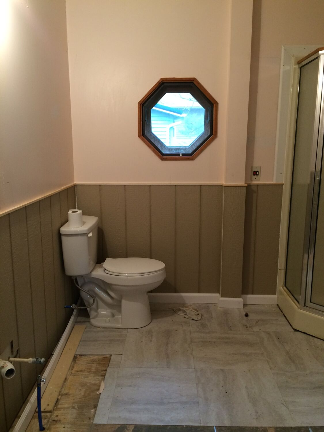 Makin Waves At Itsy Bitsy Cottage Nautical Bathroom Remodel