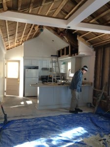 Renovating the 744sq foot Itsy Bitsy Cottage on the Finger Lakes