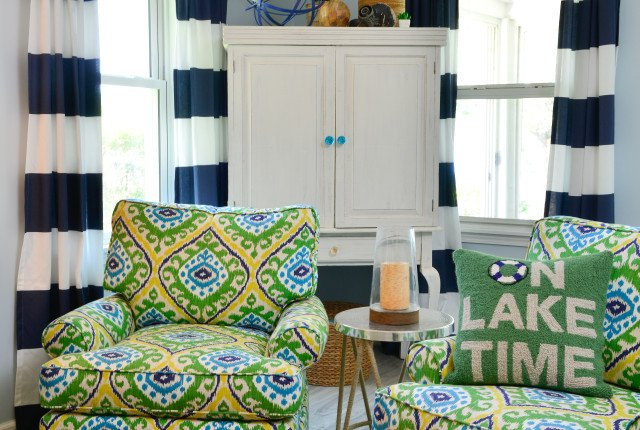 Finding color inspiration for the Itsy Bittsy Cottage renovation
