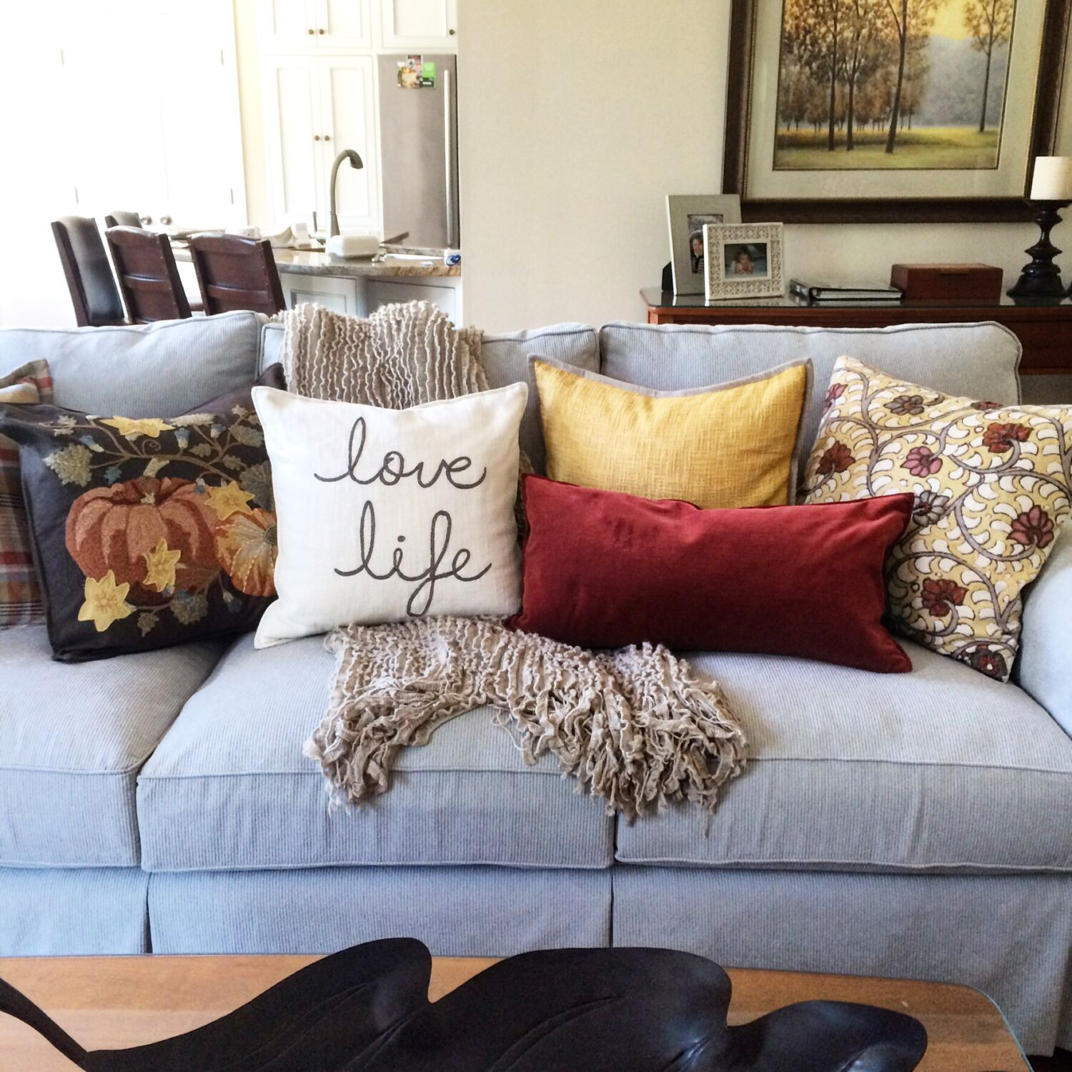 to filled olive or homes decorative solid autumn polyester it do pillows better decorating throw punch daltrey gardens how accents pillow inch yourself plain up down