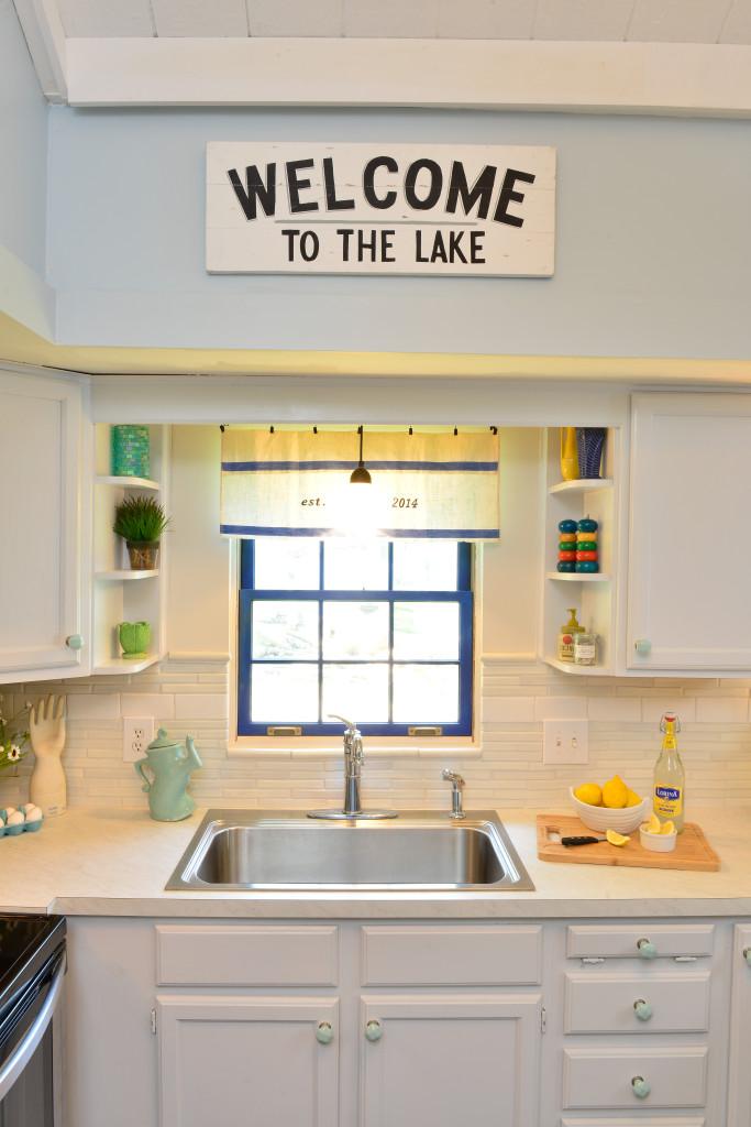 The kitchen renovation at the Itsy Bitsy Cottage