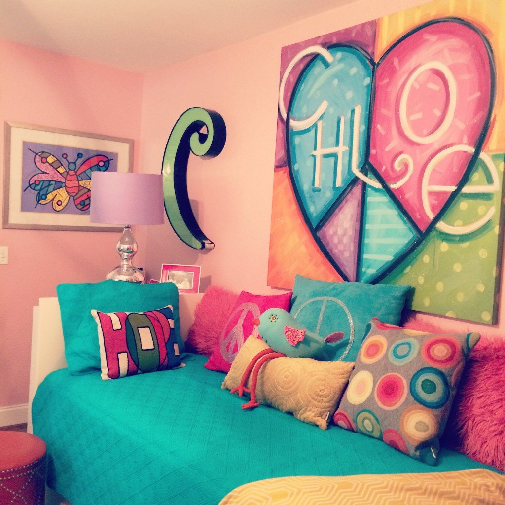 Tween to Teen bedroom makeover