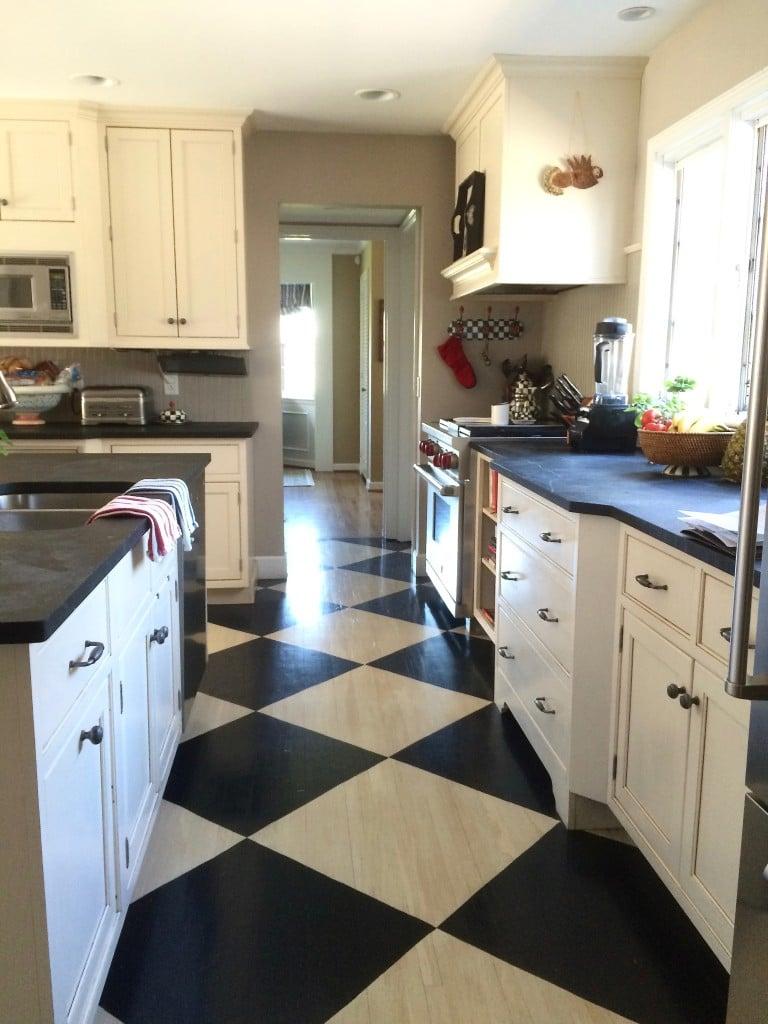 Stick On Kitchen Floor Tiles