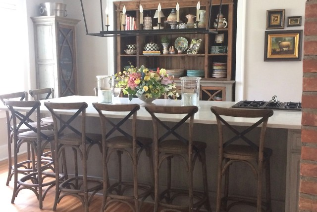 Rustic Chic Kitchen and Dining room makeover with Meme Hill Studio