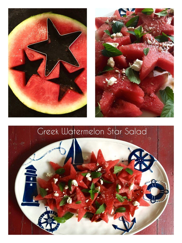 Summer Home Tour: watermelon salad