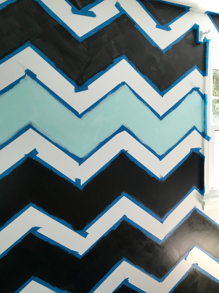 How_to_paint_chevron_stripes