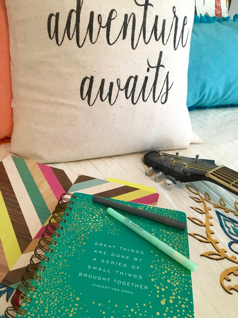 boho_chic_bohemian_bedding_bedroom_teen_makeover_elepahont_decor_adventure_bedding_arrows_the_dotted_bow_pillow_guitar_journal