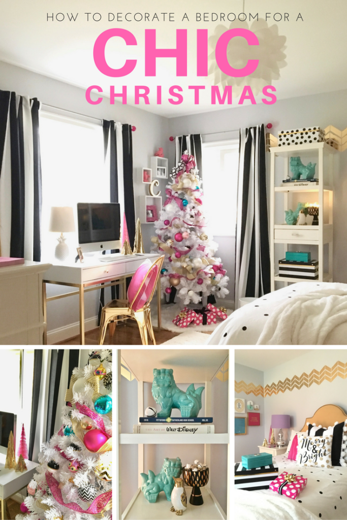 decorating a teen room for christmas black white gold d 233 coration lumineuse chambre exemples d am 233 nagements