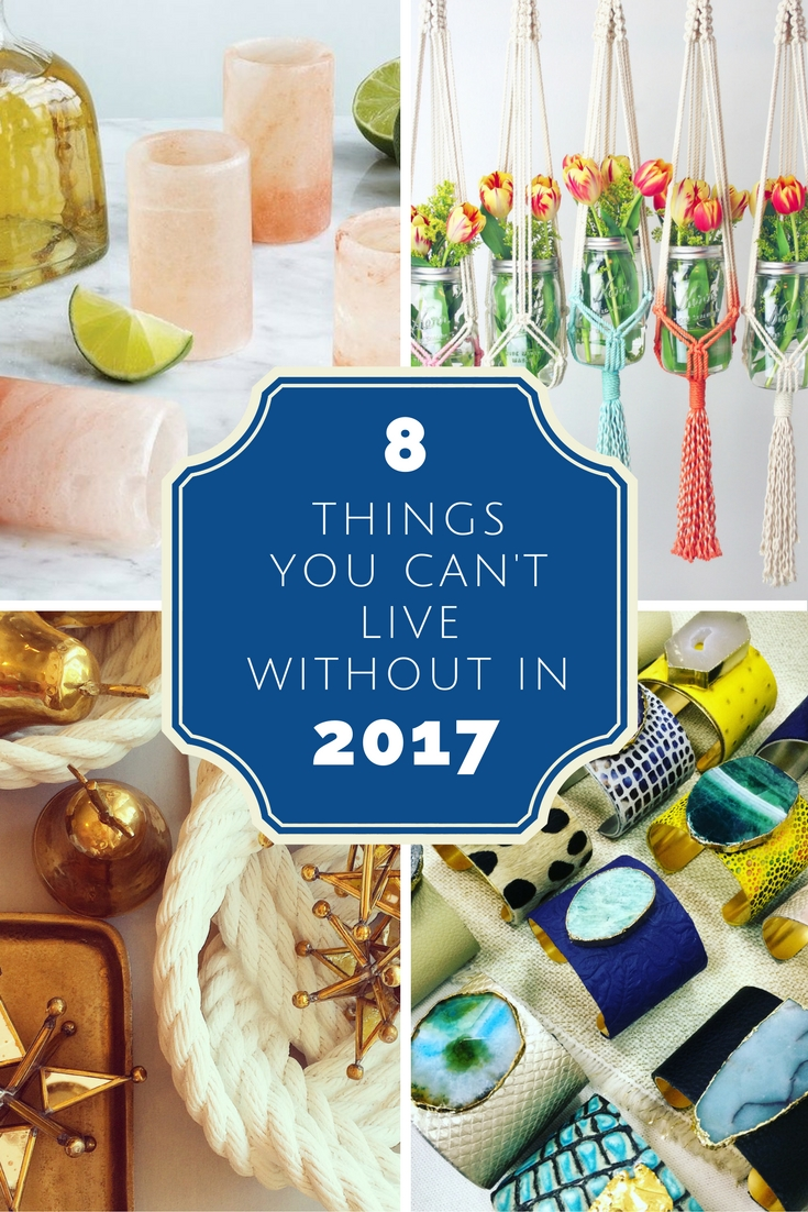 8 things you can u0027t live without in 2017 home decor trends