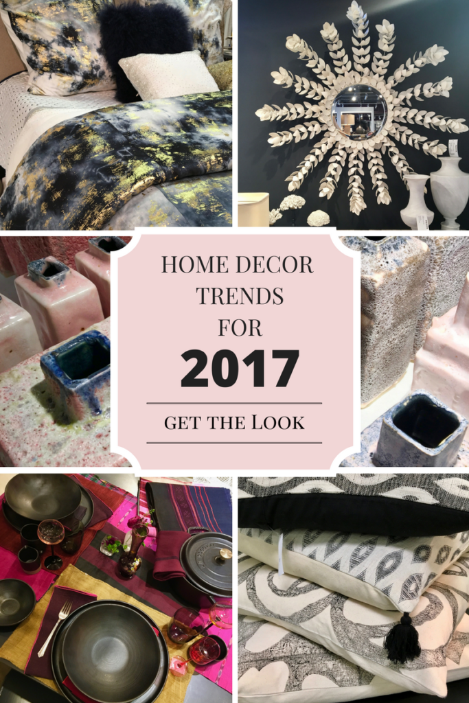 Home Decor And Design Trend Forecast 2017