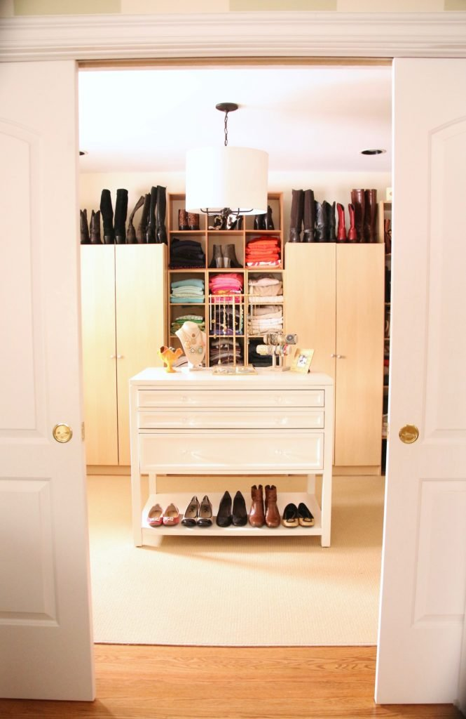 Beau Dream Walk In Closet Organizing Jewelry Clothes Homegoods
