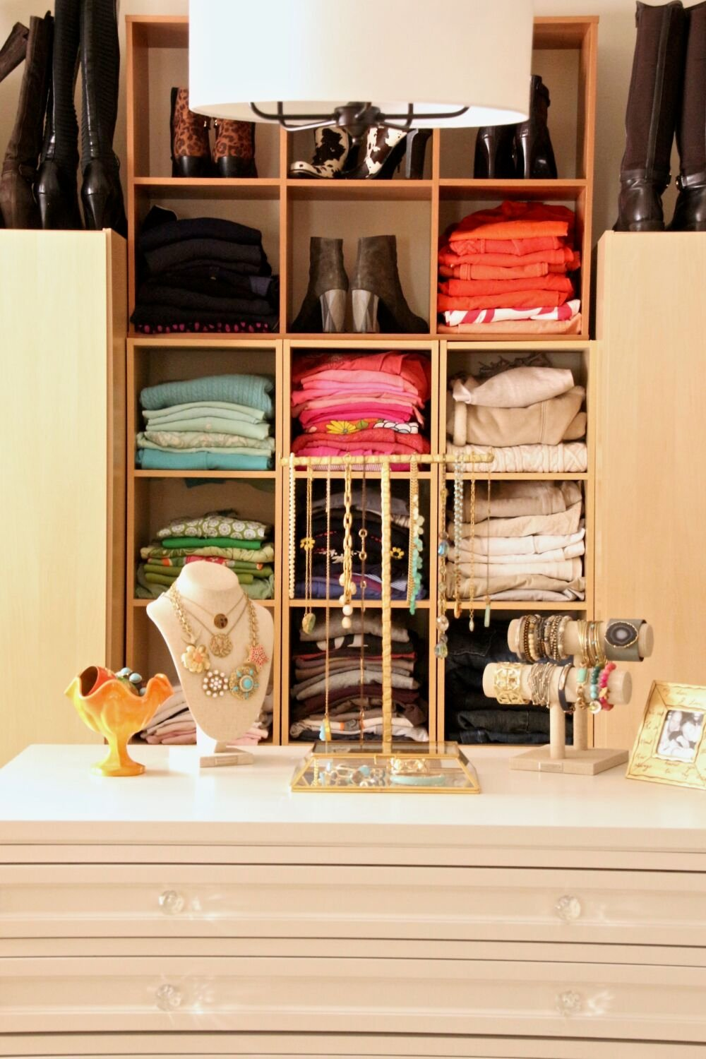 Creating And Organizing A Dream Walk In Closet On Budget