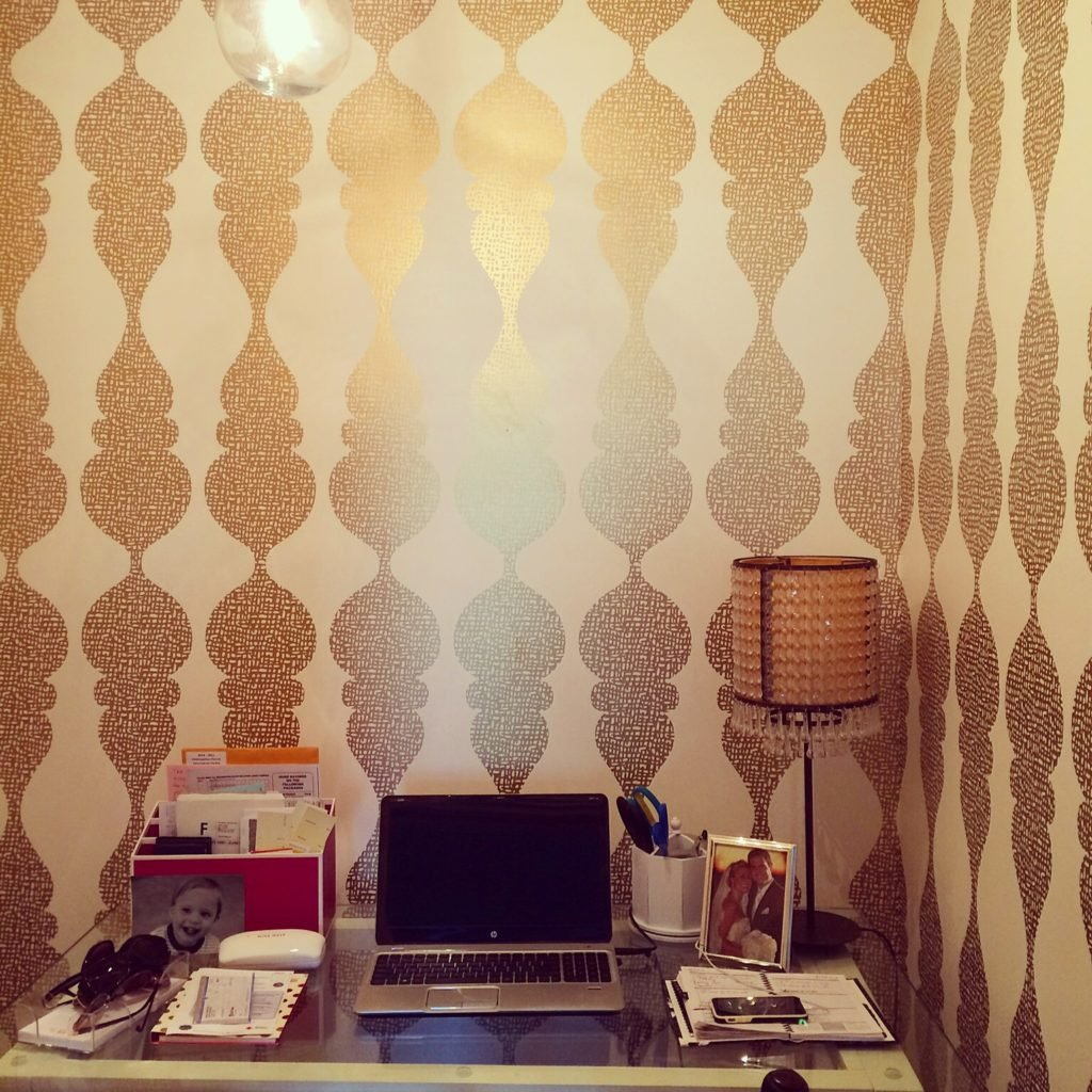 home-office-trends-gold-wallpaper-meme-hill-studiojpg