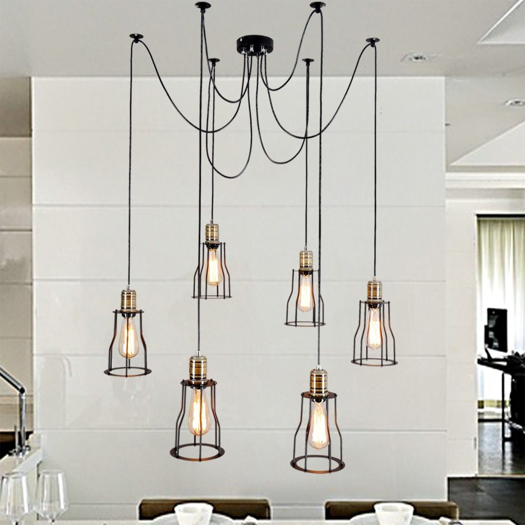 Metal Light Lamp Chandelier Trends Ceiling