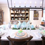 HomeGoods_Easter_eggs_turquoise_glass_painted_Rabbits_meme_hill_studio_farmhouse_table