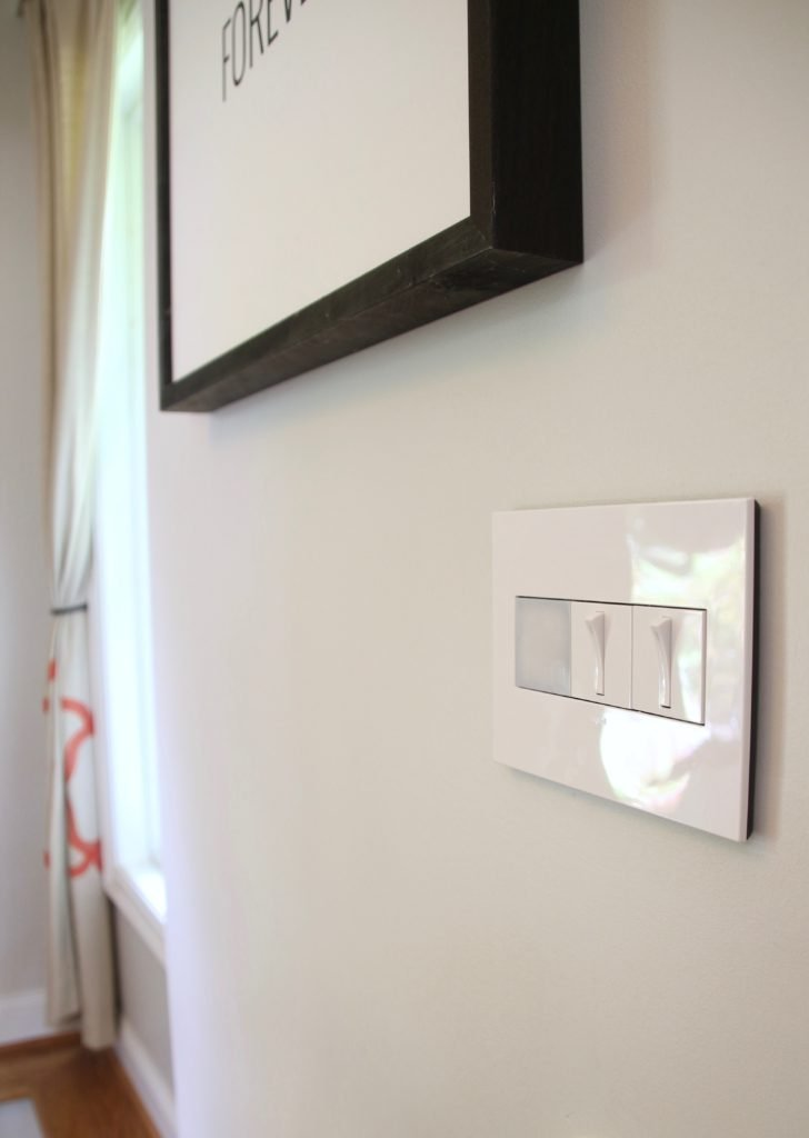 Step Down Into Living Room Light Switch