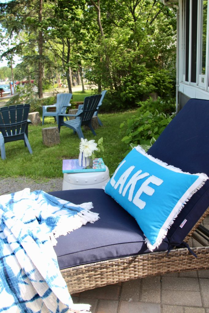 Lake Life Blogger Summer Home Tour By Amie Freling Of