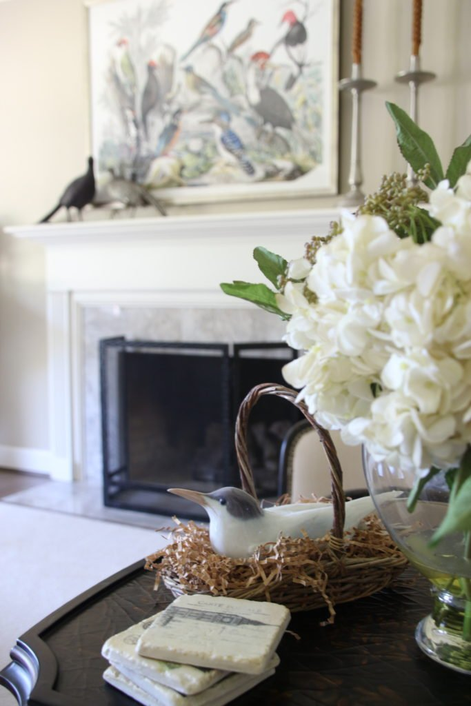 Fall_Blogger_home_tour_living_room_neutral_decor_autumn_colors_meme_hill_Amie_freling_HomeGoods_fireplace_Bird_lladro