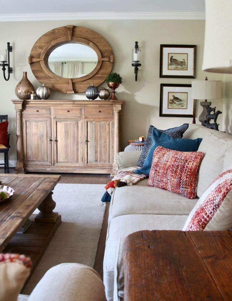 Decorating for fall 7 easy tips to creating a rich inviting home home of amie - Fall natural decor ideas rich colors ...