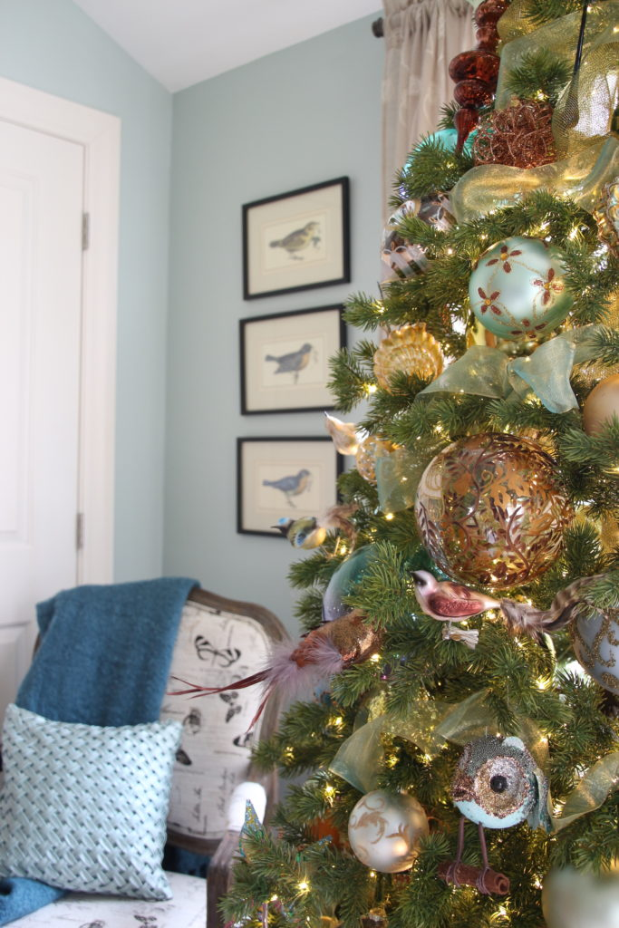 Feathered Christmas Tree