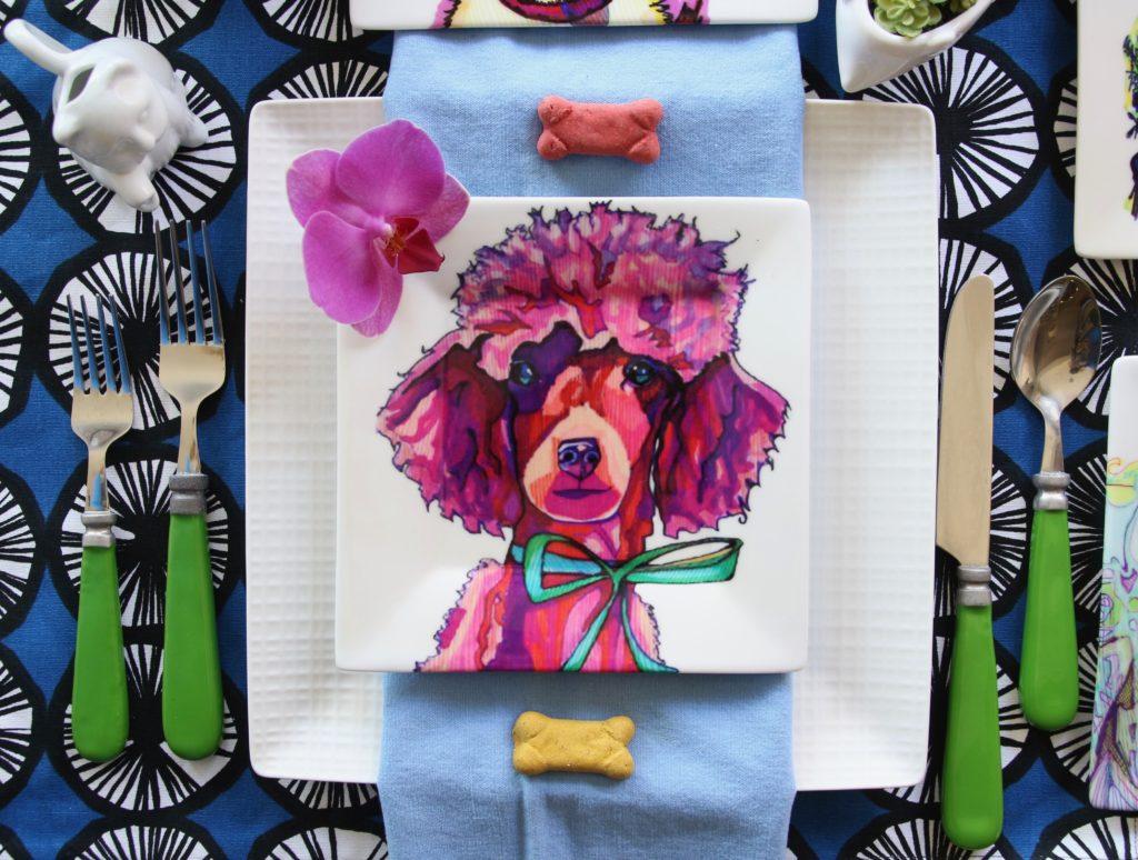 kaaren_anderson_Solvieg_studio_meme_hill_dog_portraits_plates_Poodle_paris
