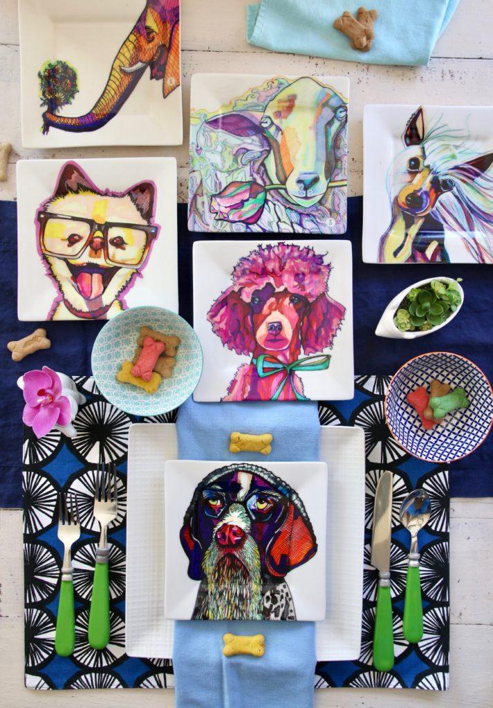 kaaren_anderson_Solvieg_studio_meme_hill_dog_portraits_plates_tablescape_busciuts_markers