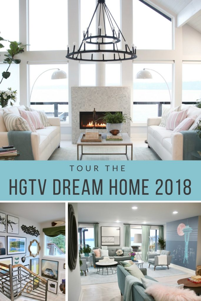 HGTV_Dream_home_Seattle_WA_Gig_Harbor_2018_Delta_faucet_amie_freling_meme_hill_brian_patrick_flynn_great_room_view_lakehouse_pinterest