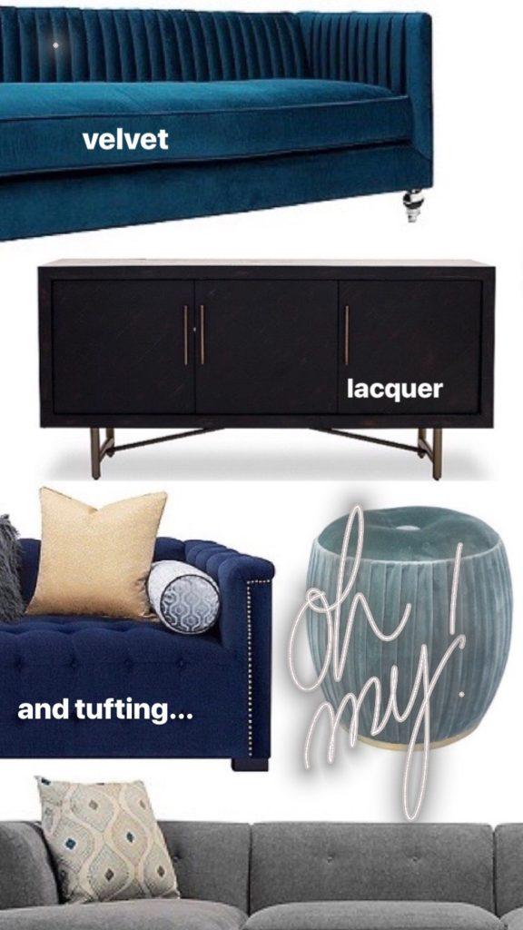Velvet_lacquer_black_furniture_velvet_Tufting_raymour_flanigan_meme_hill