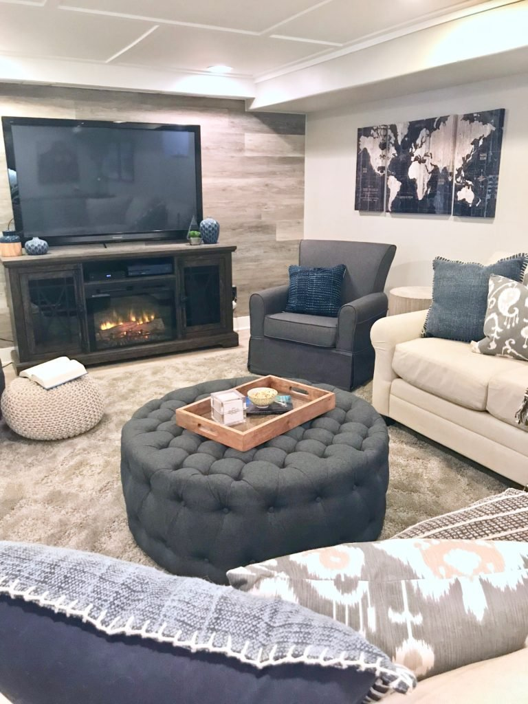 Large Sectional With Ottoman