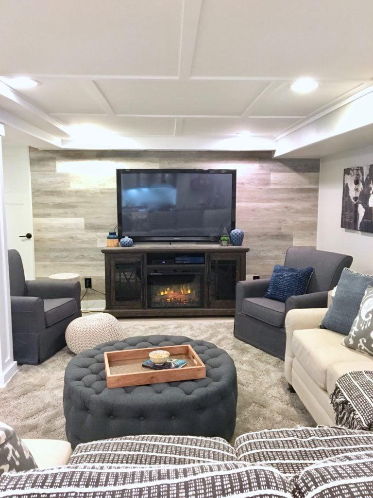 Dark Basement Living Room Ideas