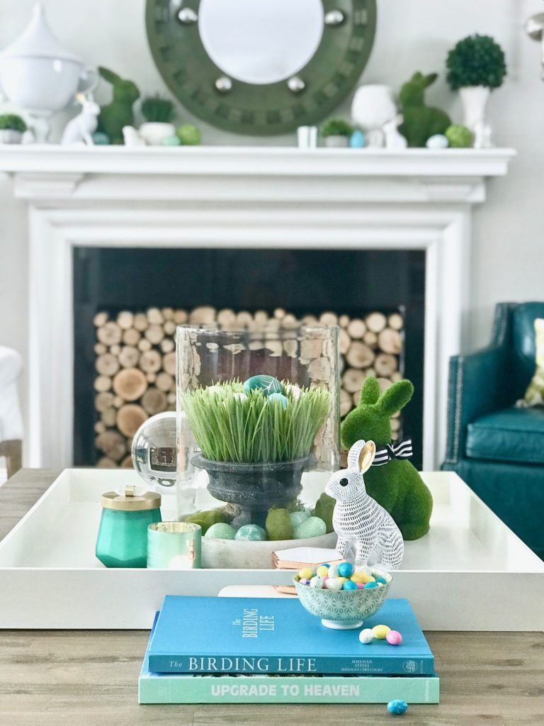 Easy Easter Decorating With Bright Cheerful Spring Colors