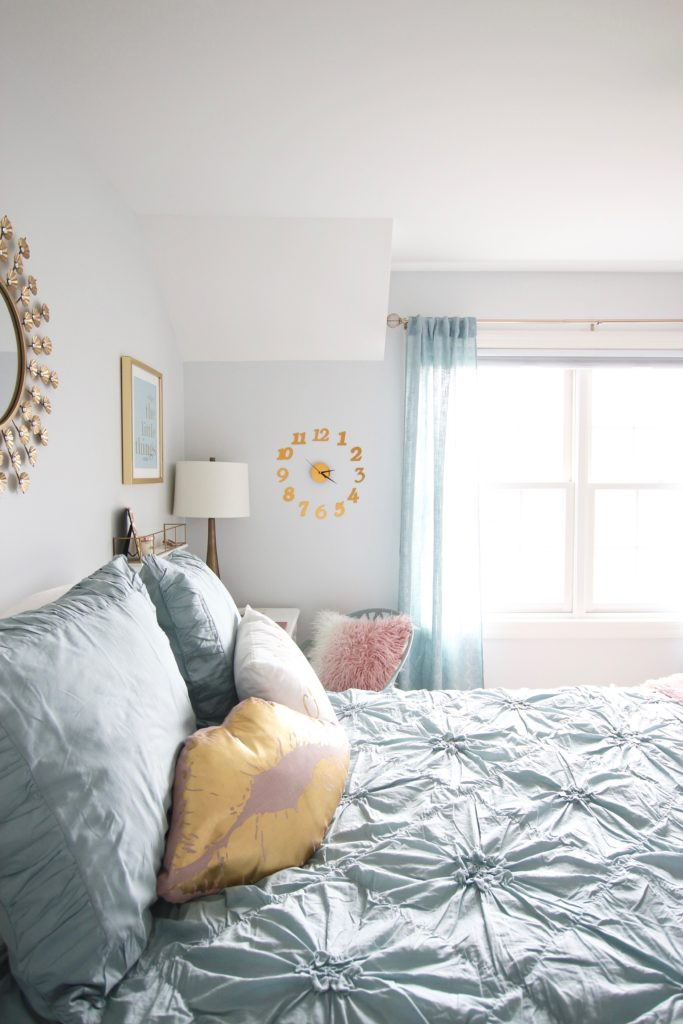 Designing_Teen_room_to_Last_white_furniture_makeover_bedroom_MemeHIll_studio_amie_freling_decorating_ideas_lighting_turquoise_pink_gold_pillows
