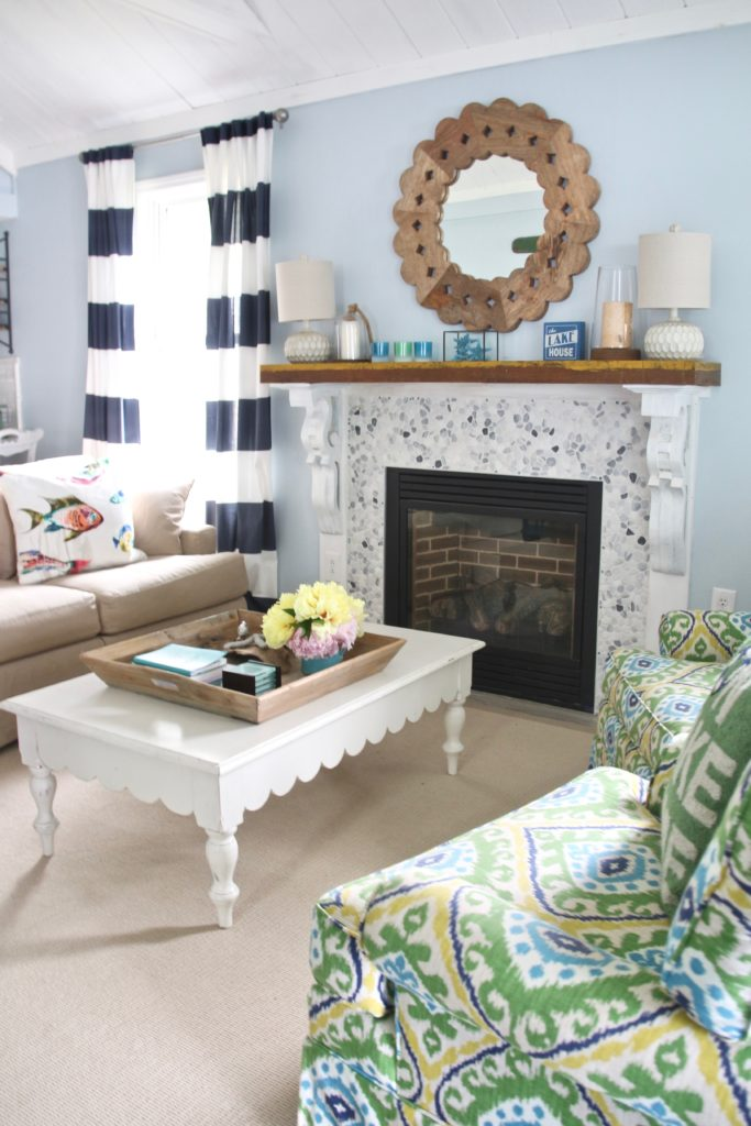 Meme_HIll_Studio_Amie_Freling_Summer_Lake_House_Blogger_Home_Tour_Cottage_Living_Coastal_decor_fireplace_Raymour_flanigan