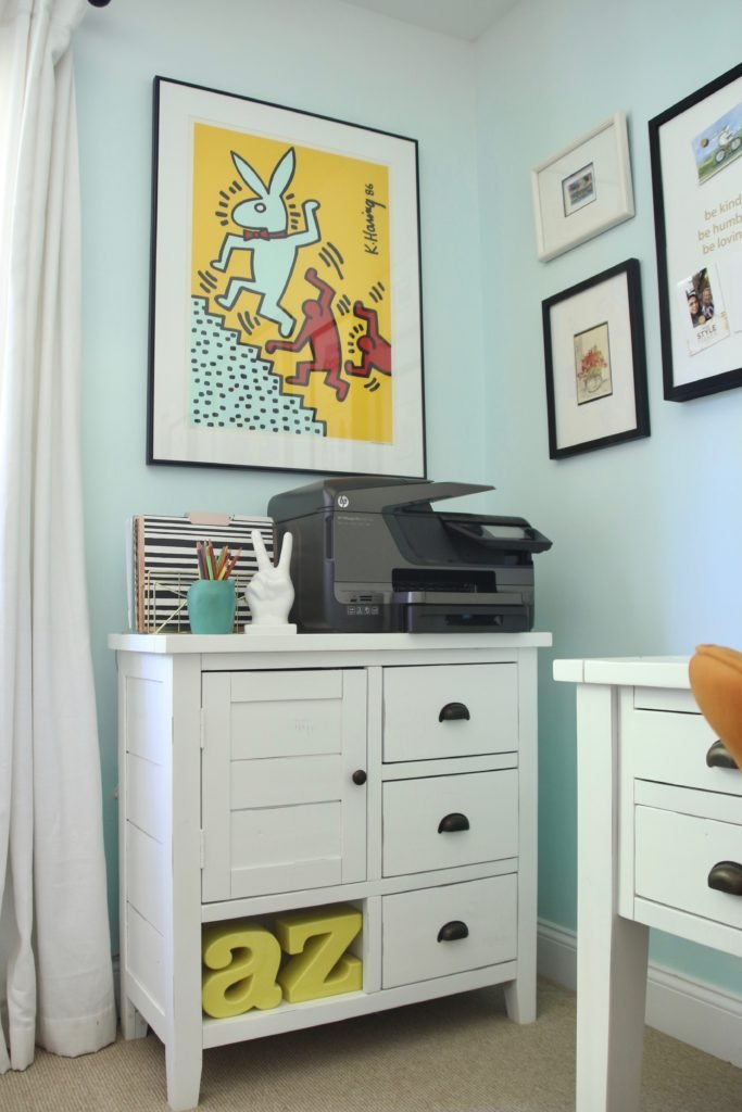 white office furniture, home office ideas
