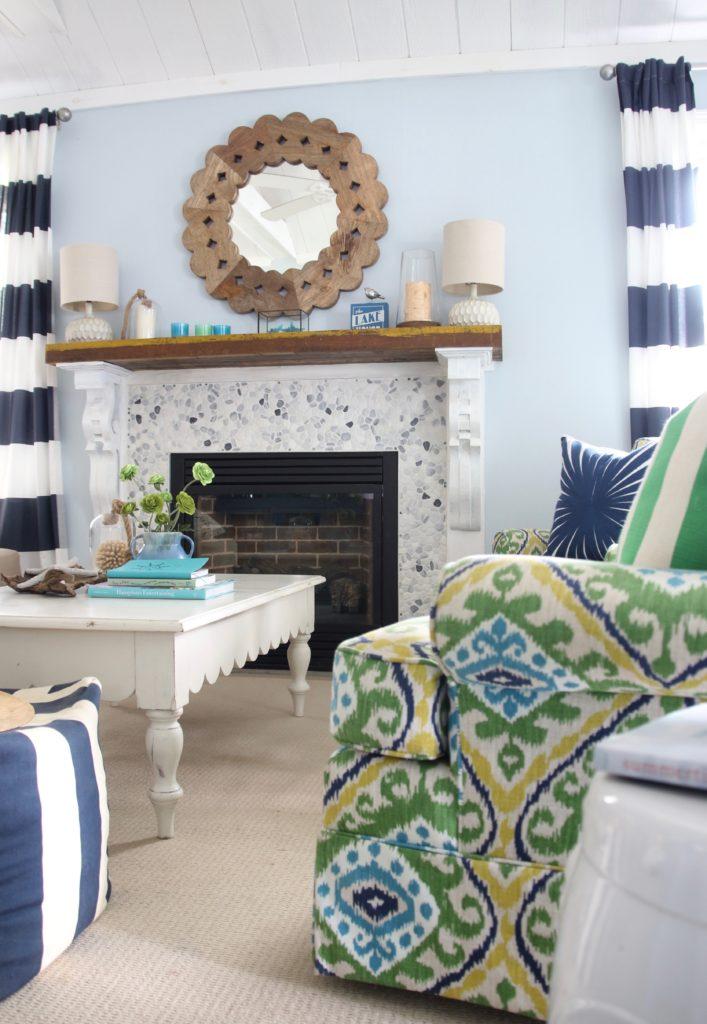 fireplace ideas, cottage fireplace mantels