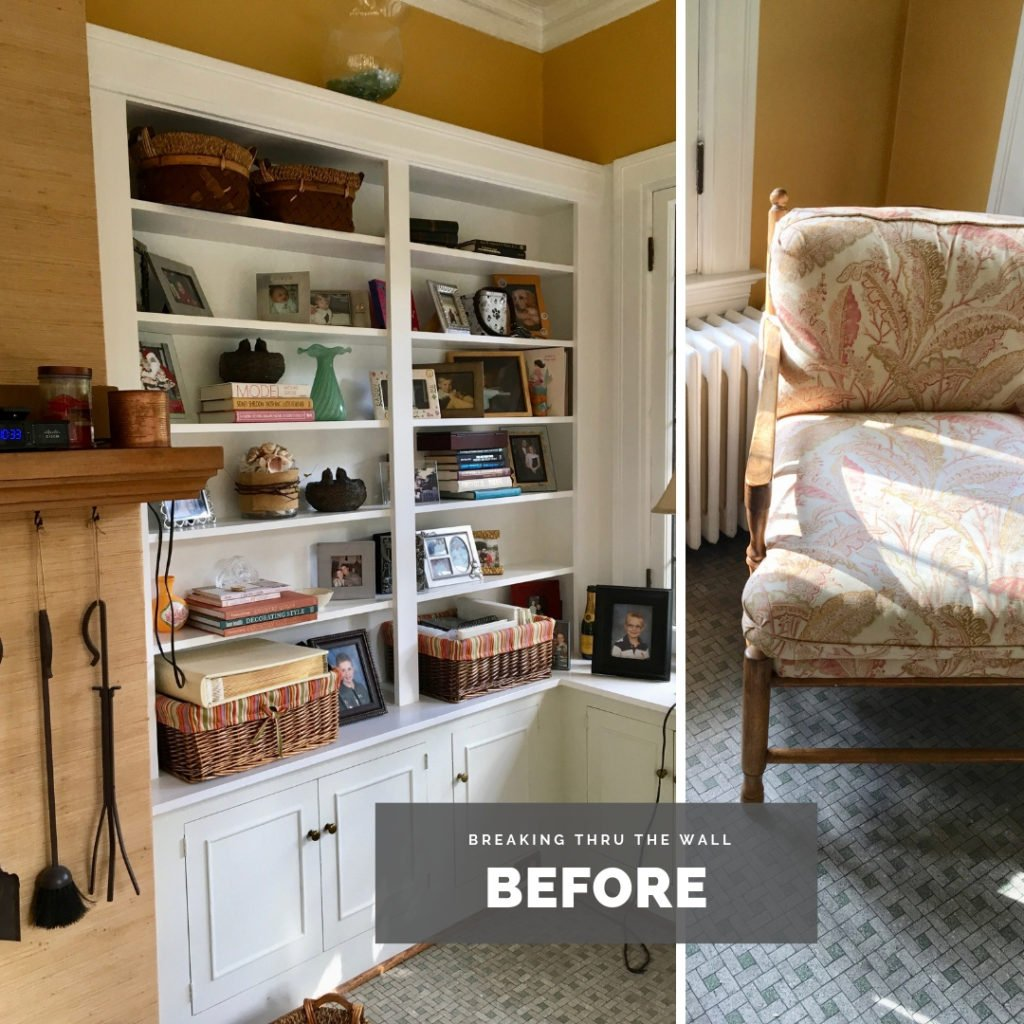 sunroom renovation ideas, but in bookcases, fall decorating ideas