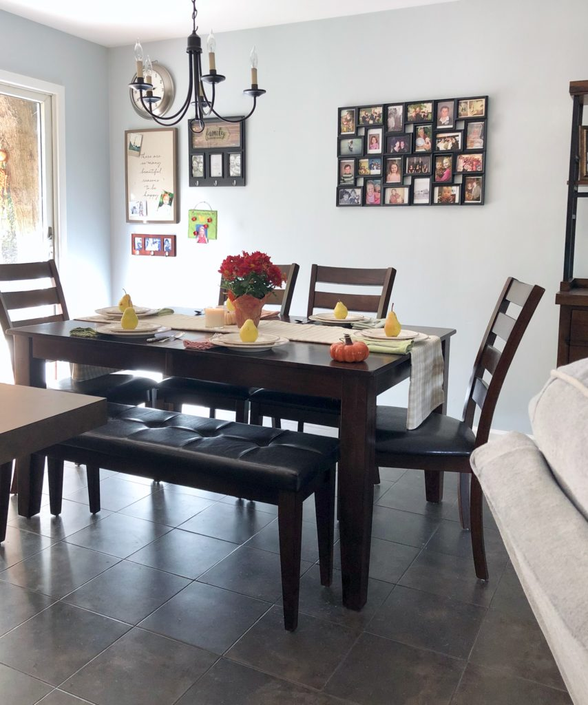 kona ding set, dining tables with bench seating