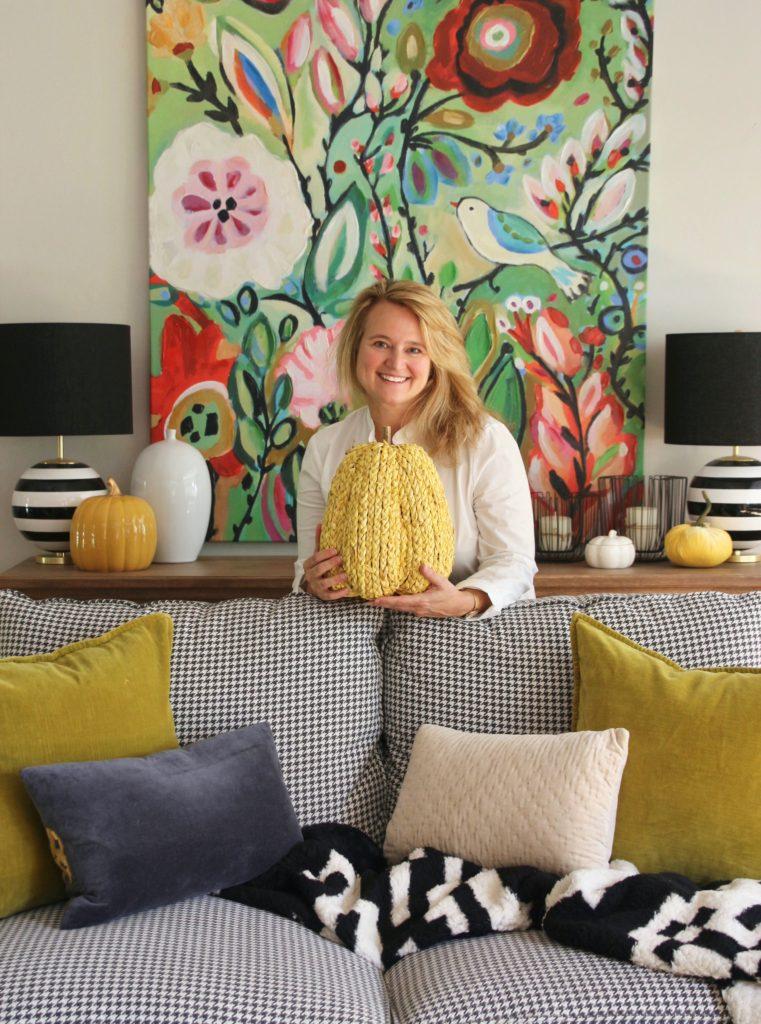 Amie Freling HomeGoods blogger, Meme Hill Studio