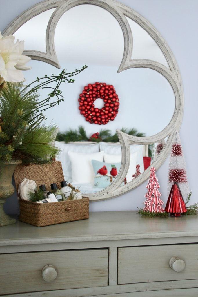 panache gift baskets, luxury gift baskets, christmas decorating ideas, bedroom decor