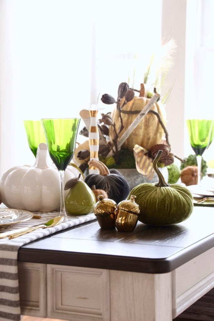 Thanksgiving day table decorating ideas