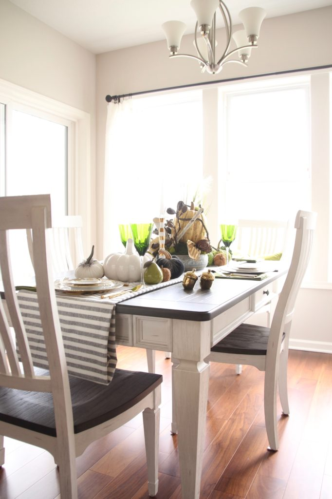 shelby dining set, white and gray furniture