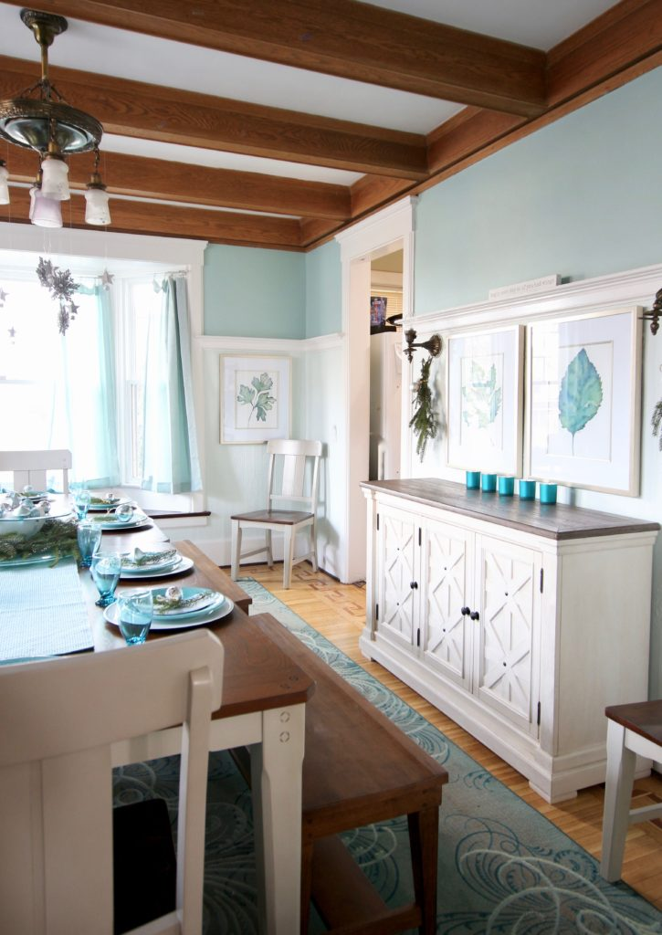 aspen buffet server, turquoise dining rooms